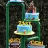 Five tier Super Mario Cake - NC625 - Celebration Cakes Melbourne
