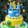 Bananas in Pyjamas Cake - NC654 - Amarantos Cakes Melbourne