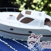 3D Speed Boat - NC665 - Amarantos Birthday Cakes Melbourne