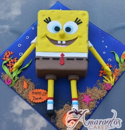 2D Sponge Bob- NC669