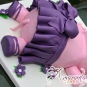3D Hippo Cake - NC673 - Amarantos Custom Made Cakes Melbourne
