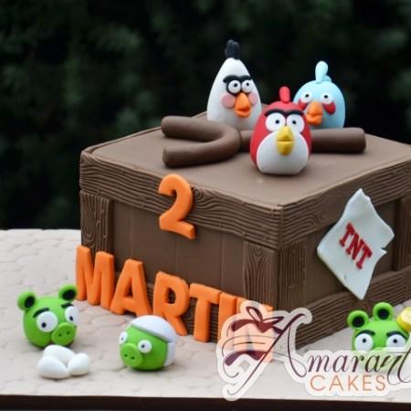 Angry Birds cake – NC687