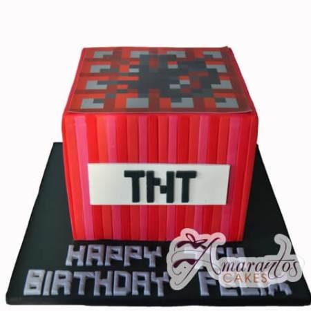 Micecraft Cake - Amarantos Designer Cakes Melbourne