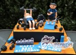 Gym Cake 21st Birthday - Amarantos Cakes Melbourne