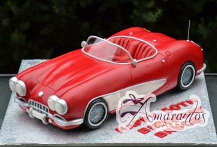 3D Corvette Birthday Cake - Amarantos Cakes Melbourne