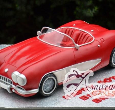 3D Corvette Cake – NC755