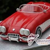 3D Corvette Cake Design - Melbourne Cakes Amarantos