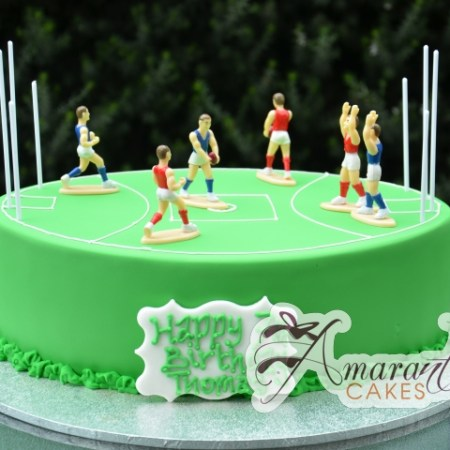 AFL Footy Field Cake- NC757