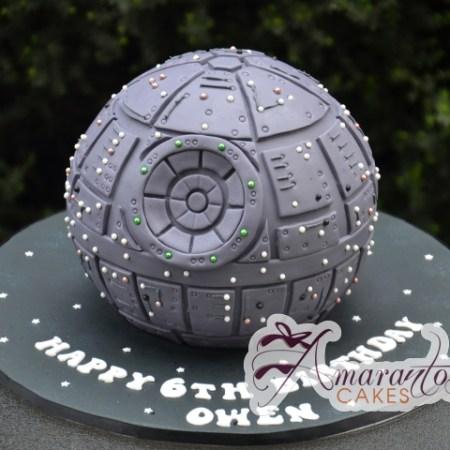 3D Death Star Cake – NC771