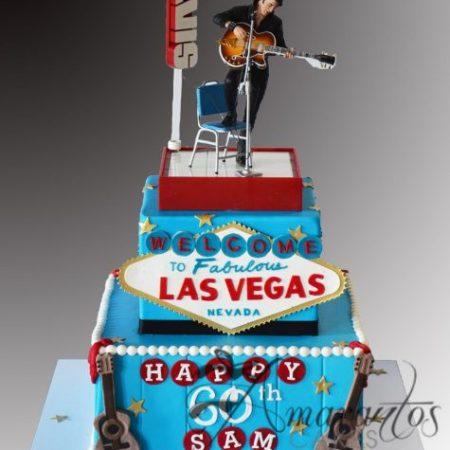 Two tier Las Vegas Cake – NC780