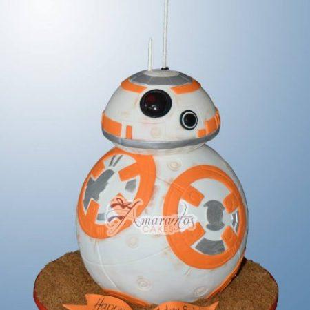 3D BB8 Cake – NC853