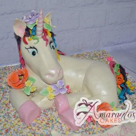 Unicorn Cake - Amarantos Designer Cakes Melbourne
