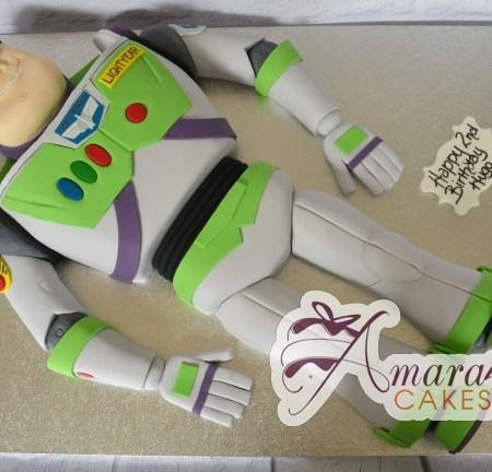 2D Buzz Lightyear Cake - Amarantos Designer Cakes Melbourne