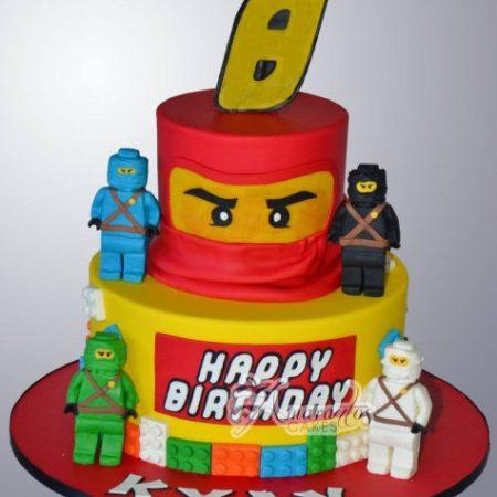 Lego Blocks Cake- NC96