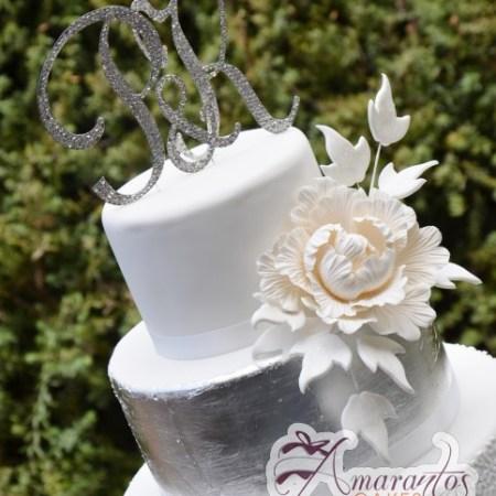 Five Tier Cake - Amarantos Cakes Melbourne