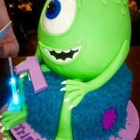 Monters Incorporated Cake - Amarantos Designer Cakes Melbourne