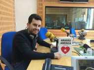 En los estudios de la Cadena Ser Murcia, en el programa 'A vivir que son dos días' 09/03/2014