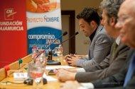 Presentación de Amarás América en Las Claras con Alberto Aguirre