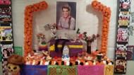 Altar de muertos dedicado a Cantinflas. Museo Ramón Gaya (Murcia, España). 01/11/2014