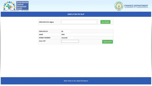 HOW TO DOWNLOAD AP EMPLOYEES PAY SLIP IN PDF - PAY SLIP DOWNLOAD