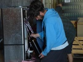 Julien prépare un magnum