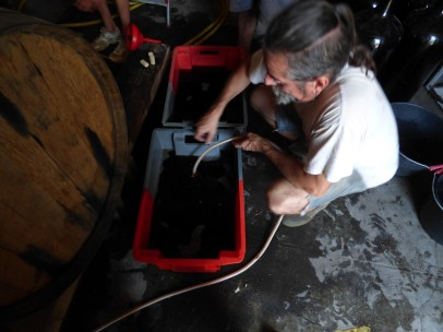 Michel moves my Grenaches wine