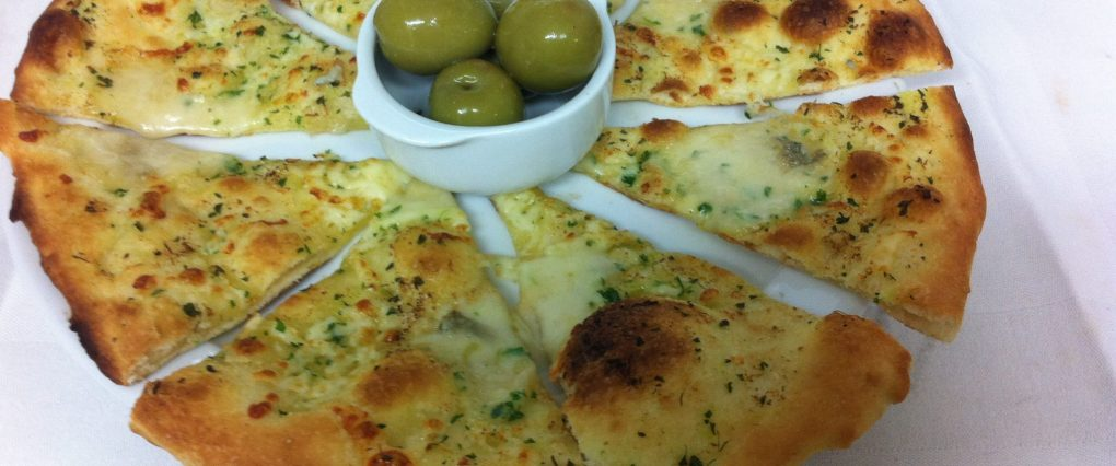 Home made Scilian style garlic Bread