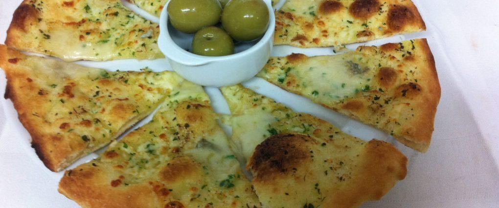 Home made Scilian style garlic Bread