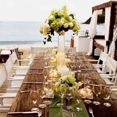 mesa na praia  Amarelo Ouro