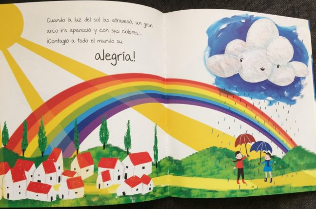 un cuento para trabajar las emociones con niños. Alegría