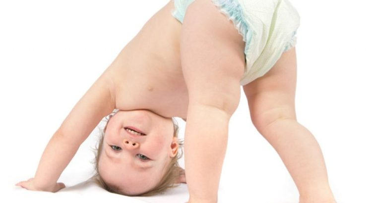 retirada del pañal propuesta por una niña de dos años