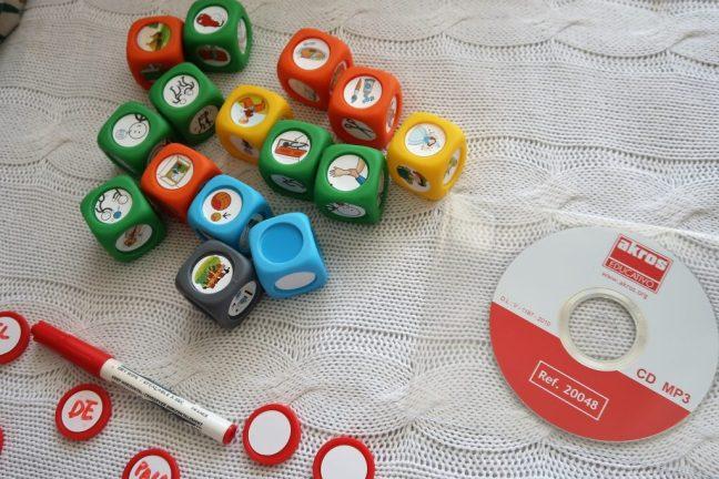 juego para trabajar el lenguaje con niños