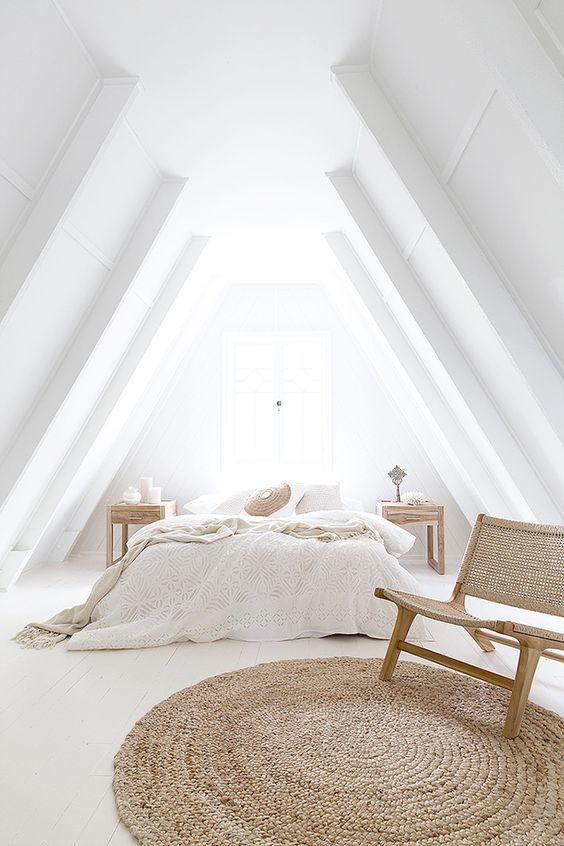 minimalismo y decoración ligera