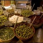 Olives in Amaretto Deli, Norwich