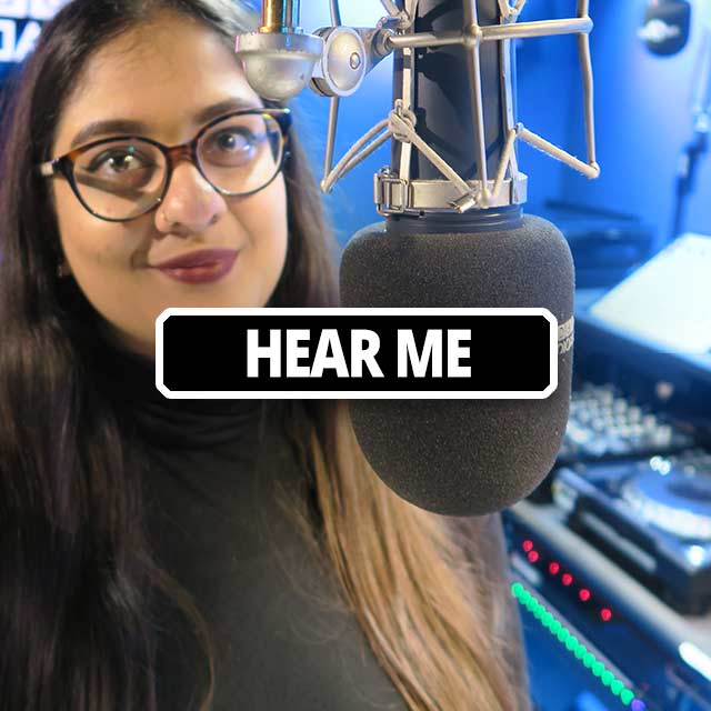 hear me radio presenter
