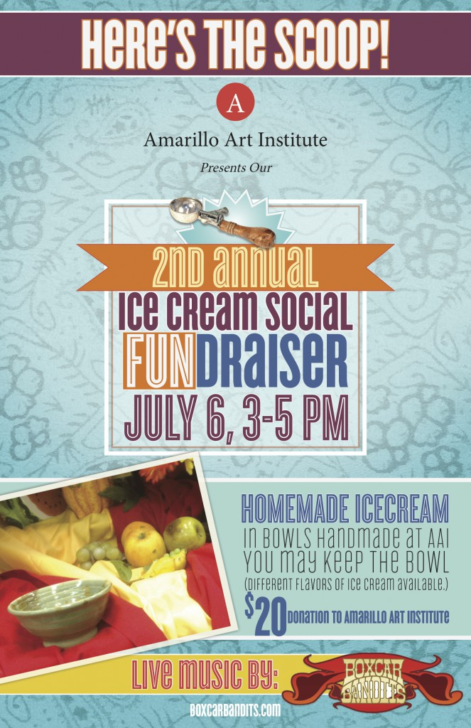Amarillo Art Institute - Ice Cream Social
