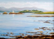 Port Appin Lighthouse - Maggie Price