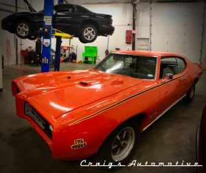 Pontiac Day at Craig's Automotive