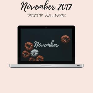 Freebie: November Desktop Wallpaper 1