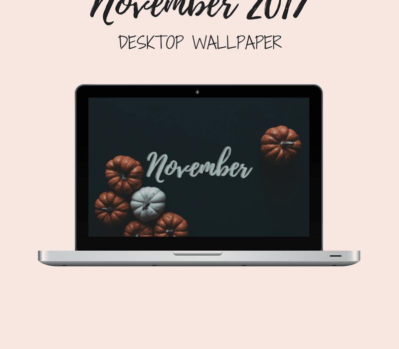 Freebie: November Desktop Wallpaper
