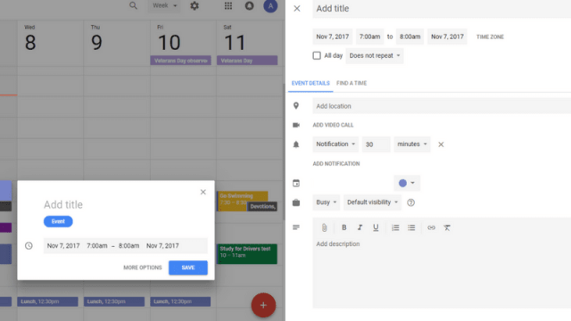 How To Use Google Calendar To Become More Organized 2