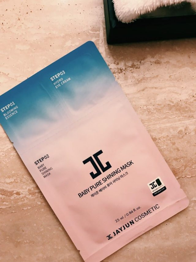 complimentary-sheet-mask-marriott-resort-jeju