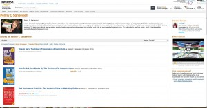Amazon Author Central Profile in France