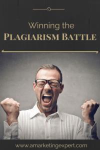 Winning the Plagiarism Battle 1