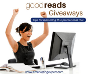 goodreads giveaway youtube author marketing experts video tip