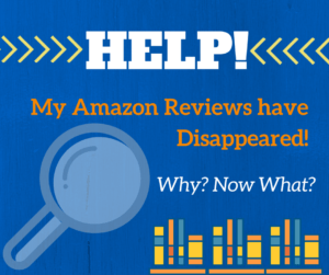 Help My Amazon Reviews Have Disappeared