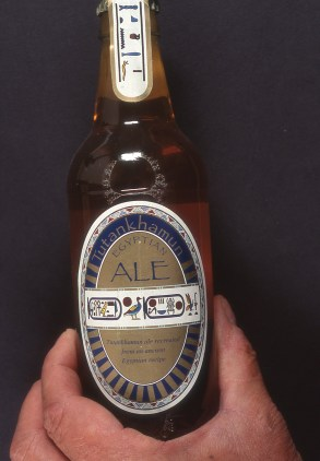 Pharaonic ale!: A project that led to the recreation of ancient Egyptian beer by UK brewer Scottish & Newcastle (Read more about it here: byo.com/hops/item/2150-tutankhamun-ale-story)
