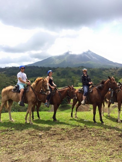 Horseback Riding in La Fortuna
