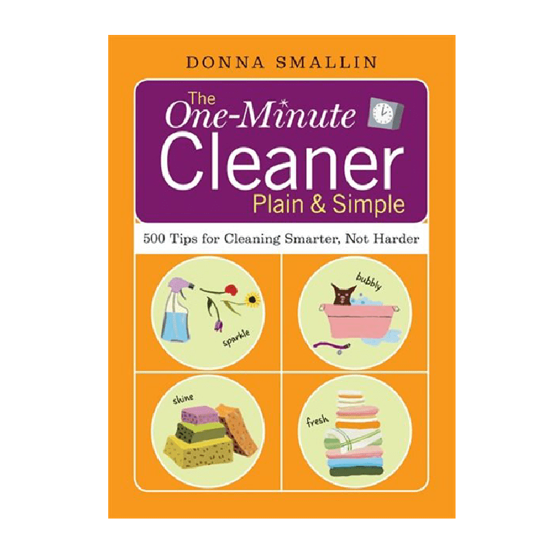 One Minute Cleaner by Donna Smallin