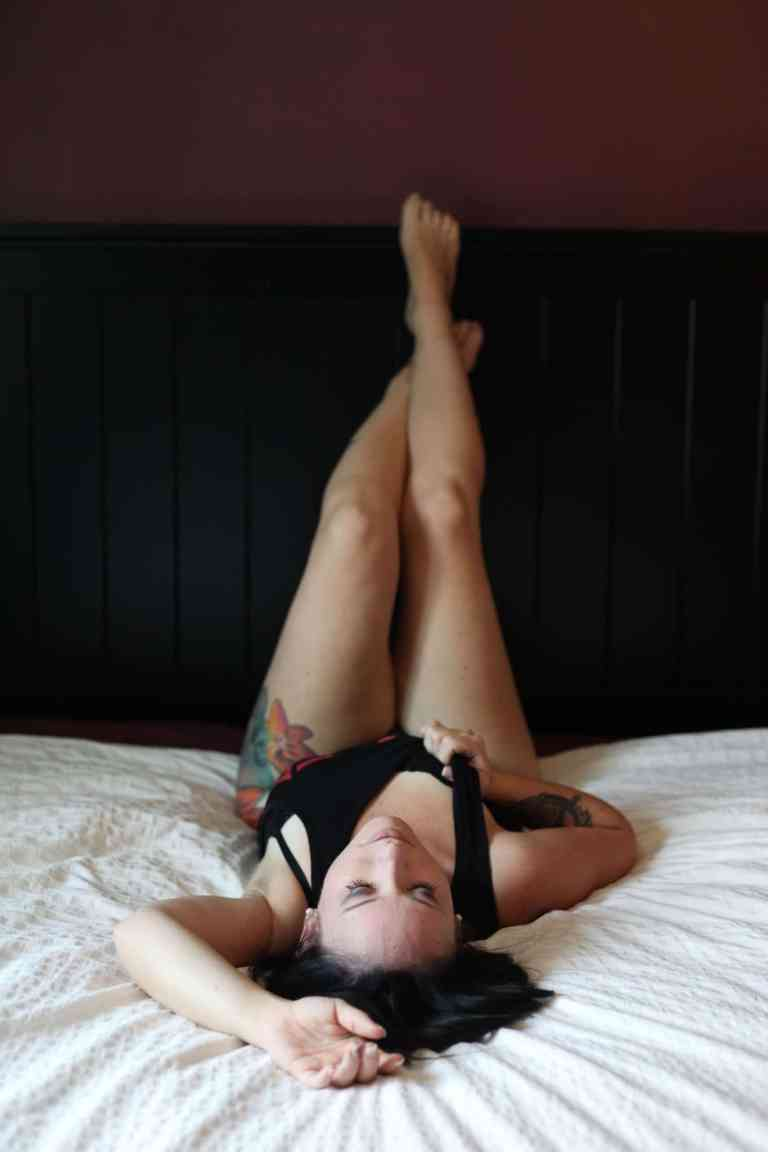 girl on bed